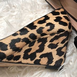 kate spade Shoes - GENTLY WORN KATE SPADE LEOPARDS WEDGES SZ 7.5